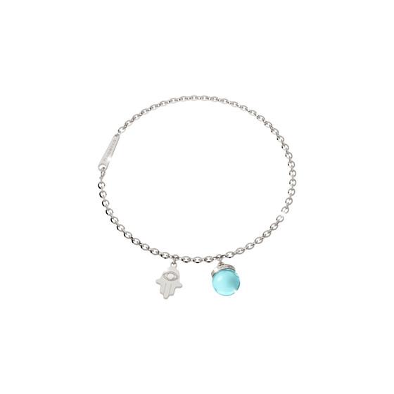 Браслет Amulet BAMBBT03 (white/blue)
