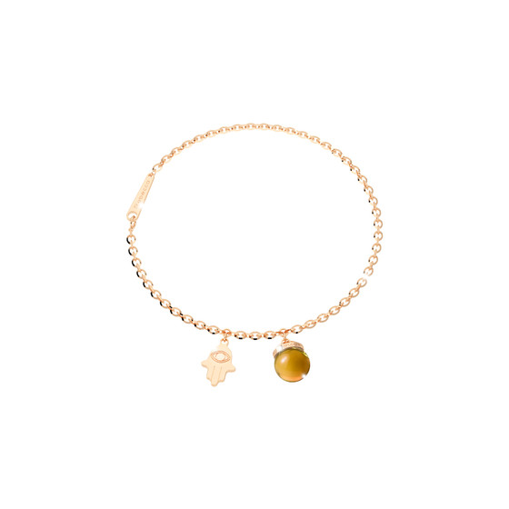 Браслет Amulet BAMBOC03 (yellow/citrine)