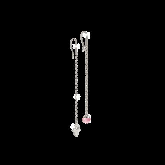 Серьги Amulet BAMOBP04 (white/pink)