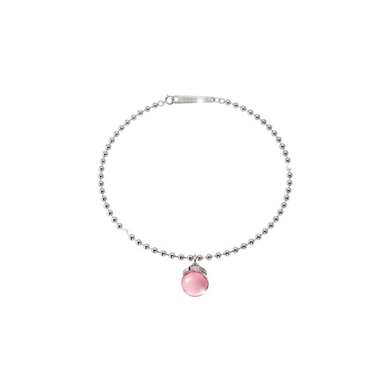B-Cool Stone Bracelet BBCBBP01 (white/Light pink hydrotermal stone )
