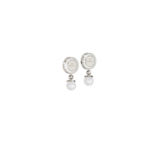 Серьги Boulevard pearl BBPOBB02 (white)