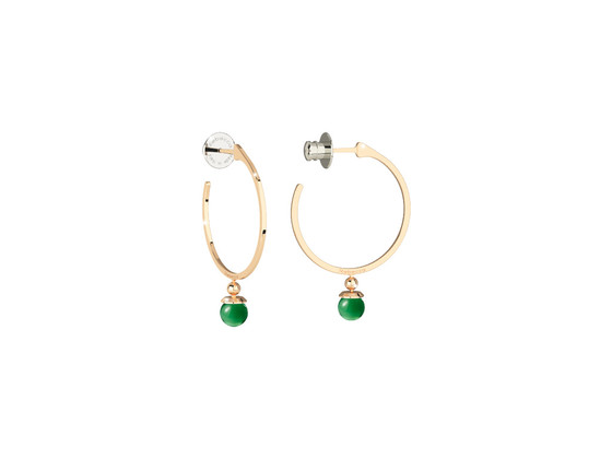 Boulevard stone Earring BBYOOS08 (yellow/Green hydrotermal stone)