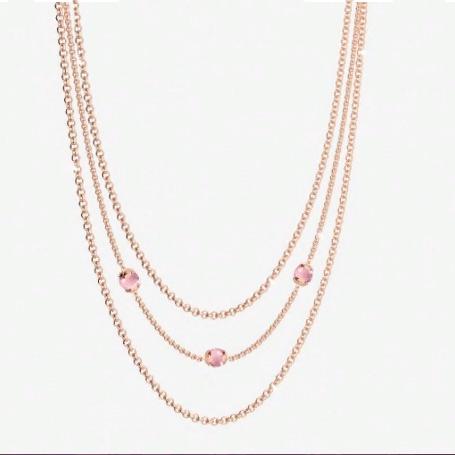 Колье Hollywood stone BHDKRP02 (pink/pink)