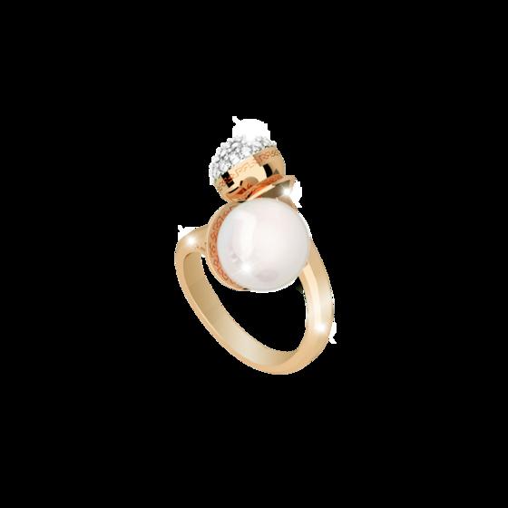 Кольцо Hollywood pearl BHOAOO16 (yellow)