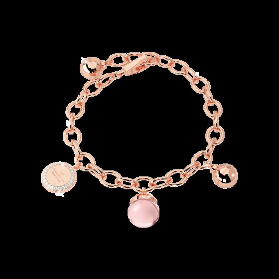 Браслет Hollywood stone BHSBRQ04 (pink/pink matte)