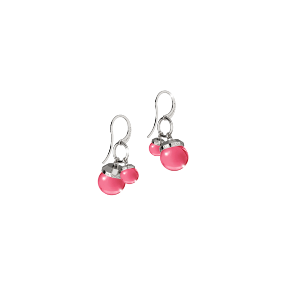 Серьги Hollywood stone BHSOBX72 (white/fuxia)