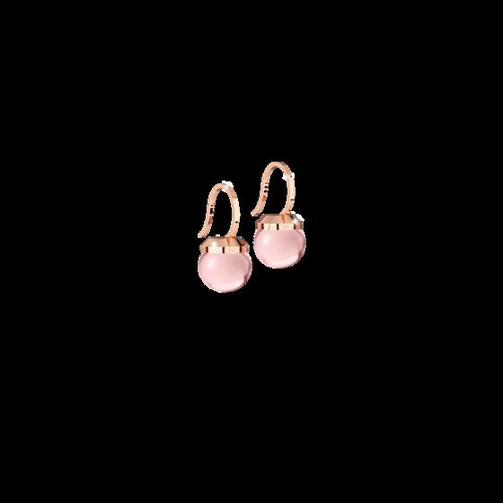 Серьги Hollywood stone BHSORQ02 (pink/pink matte)