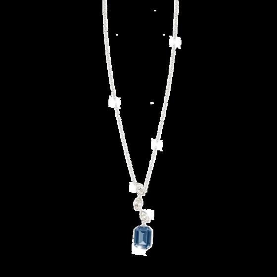 Колье Lumière BLMKBD15 (white/dark blue/white)