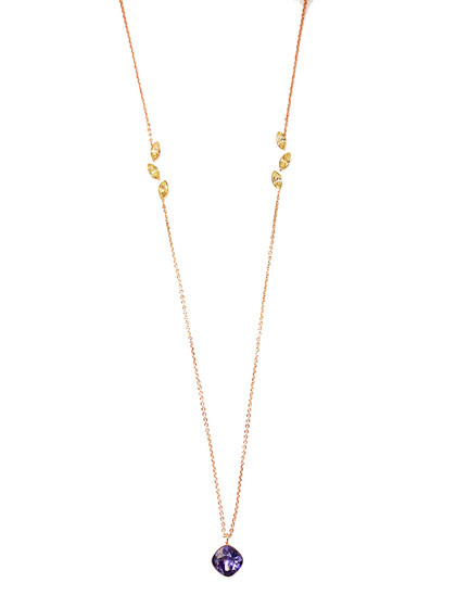 Lumière Necklace BLMKOV12 (yellow)