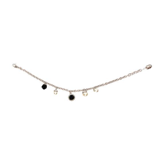 Mediterraneo 18 Bracelet BMDBBN58 (white/Onyx paste and white pearl)