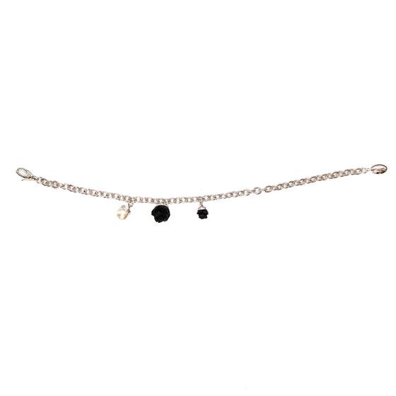 Mediterraneo 18 Bracelet BMDBBN59 (white/Onyx paste and white pearl)