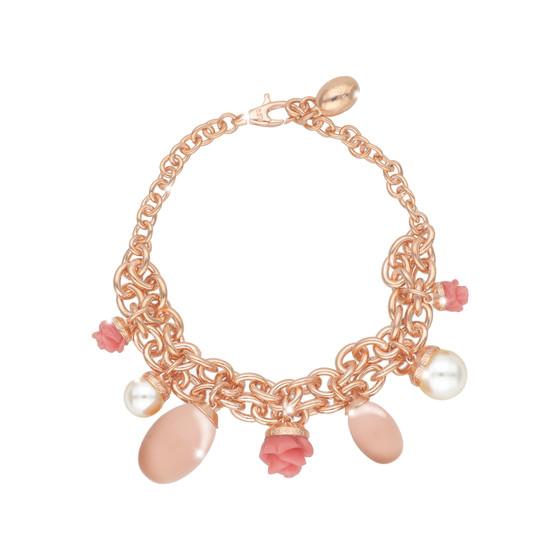 Mediterraneo 18 Bracelet BMDBRP54 (pink/Pink coral beads)