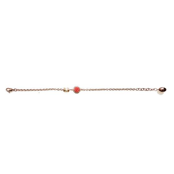 Mediterraneo 18 Bracelet BMDBRP57 (pink/Pink coral beads)