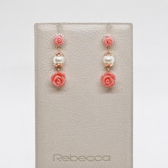Серьги Mediterraneo BMDORP57 (pink/coral/pearl)