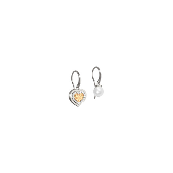 Серьги My Love BMLOBO14 (white/yellow)