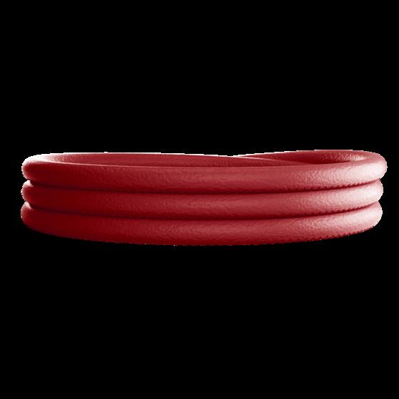 Браслет тройной MyWorld BWLBPR03 красный
