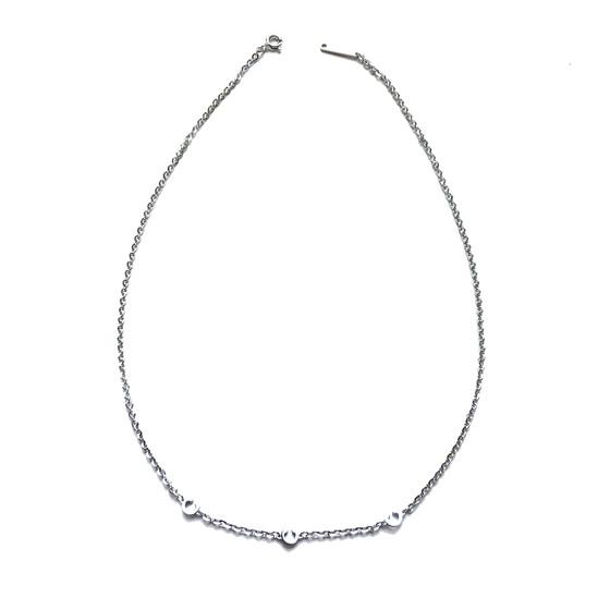 MyWorld Alphabet Necklace BWWKBB27 (white)