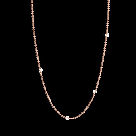 Колье MyWorld 60см BWWKBR60 (pink)