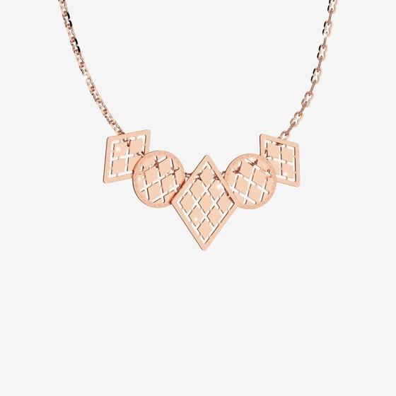 Melrose 10 Necklace B10KRR11 pink