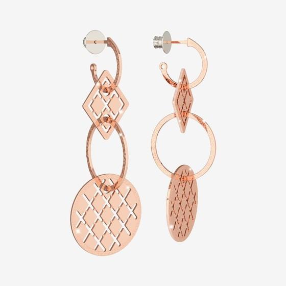 Melrose 10 Earring B10ORR26 (pink)