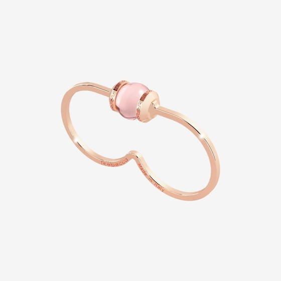 Кольцо Hollywood stone BHDARQ01 (pink/pink matt)