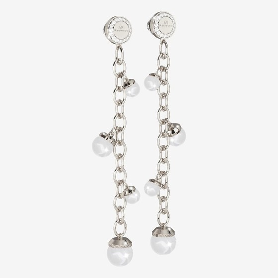 Серьги Hollywood pearl BHOOBB64 (white)