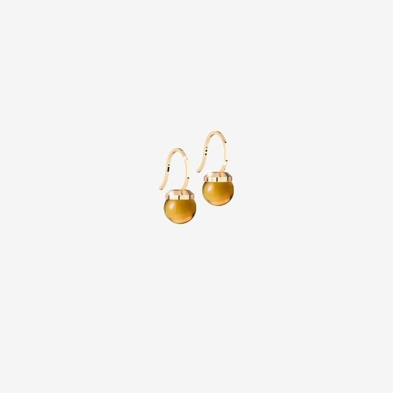 Серьги Hollywood stone BHSOOC01 (yellow/citrine)