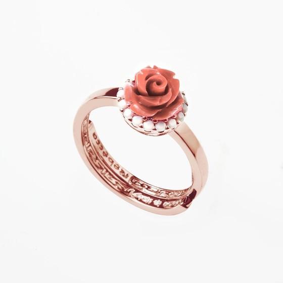 Кольцо Mediterraneo BMDARP03 (pink/coral)