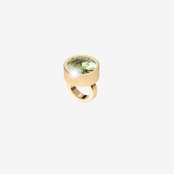 MyWorld Charms Charms BWLAOE34 yellow / light green stone