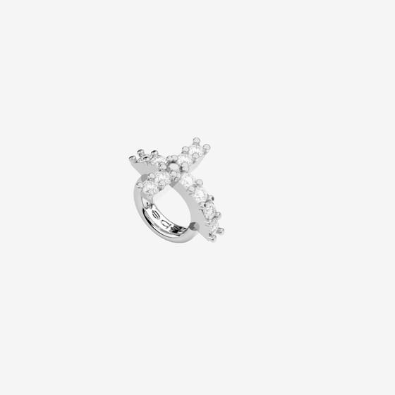 MyWorld Silver Charms BWLAZB87 (белый родий/белые кристаллы)
