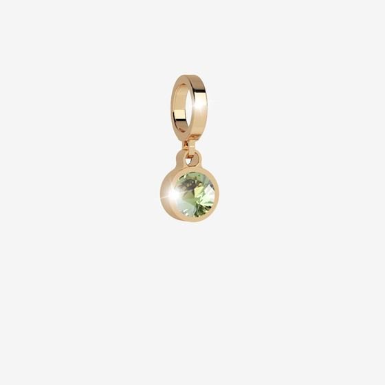 MyWorld Charms Charms BWLPOE33 yellow / light green stone