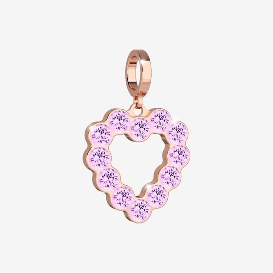 MyWorld Charms Charms BWMPRA35 pink / pink stone